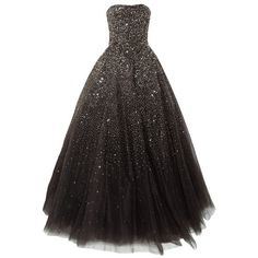 Lovelybride Amazing Strapless Beaded Prom Dress Long Formal Evening... (805 BRL) ❤ liked on Polyvore featuring dresses, gowns, beaded gown, long dresses, formal gowns, long evening dresses and formal dresses