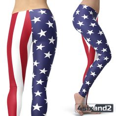 US Flag Leggings – 4sixand2 #leggings #pants #tights #fashionactivewear #gym #crossfit #yoga #pilates #motivation #sexy #fashion #stylish #love #beauty #beautiful #pretty #prints #outfit #shopping #instafashion #ootd #lookoftheday #fashionista #instastyle #instafollow #followback #instagood #photooftheday #followme
