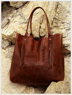 Love Mert brown leather bag...beautiful products make a big difference.