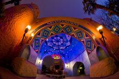 The entrance to the Bazaar at Adventureland, Disneyland Paris.