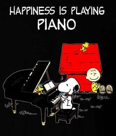Snoopy Love, Snoopy And Woodstock, Charlie Brown Cafe, Music Classroom, Classroom Rules, Soul Songs, Birthday Wallpaper, Snoopy Quotes, Playing Piano