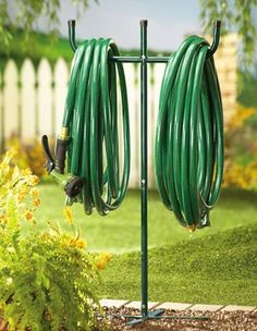 Great Idea For Out At The Garden. I Wouldnu0027t Have To Drag The Hose From The  House Every Night.