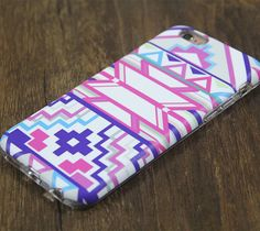 Ethnic Tribal Pink Tough Protective iPhone 6s Case iPhone 6 plus S7 Edge SE Snap Case 3D 213