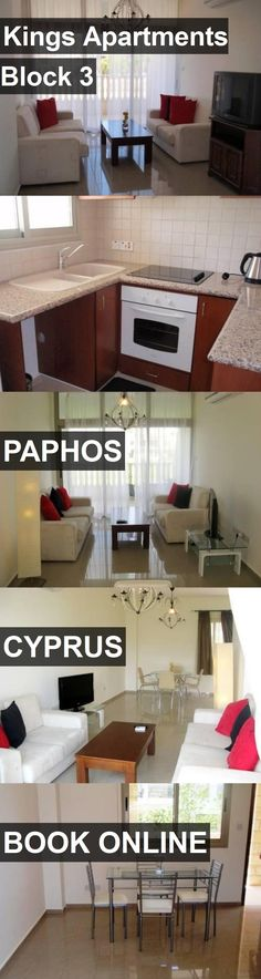 Kings Apartments Block 3 in Paphos, Cyprus. For more information, photos, reviews and best prices please follow the link. #Cyprus #Paphos #travel #vacation #apartment