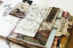 Visual journal by paperampersand