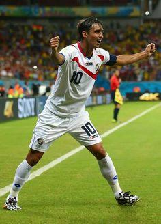FIFA World Cup 2014 Bryan Ruiz, Costa Rica. Gooooal!!