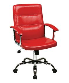 Look what I found on #zulily! Red Malta Office Chair by Avesix #zulilyfinds