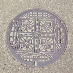 深谷市のマンホールはバラ#マンホール #manholecover - @gummymgmg- #webstagram