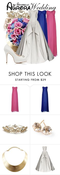 """""""Aurora - Wedding"""" by annabelle-95 ❤ liked on Polyvore featuring mode, True Decadence, Ippolita, GUESS, Zac Posen et Forever New"""