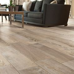Modern living room floor tile that looks like wood a for High end hardwood flooring