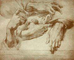 Andrea Del Sarto, Study of Hands