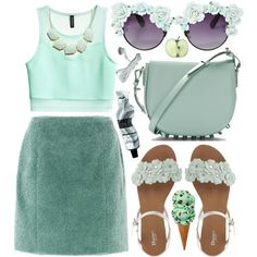 """""""supergirl smoking my green"""" by waitforclearskies on Polyvore"""