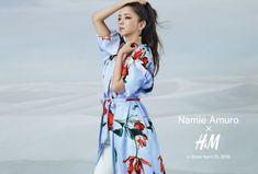 2018年9月に芸能界引退を発表している安室奈美恵さんが世界的ブランドとコラボレーション。その姿がとっても美しいのです…