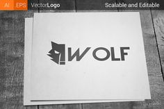Wolf Logo by Krukowski on Creative Market