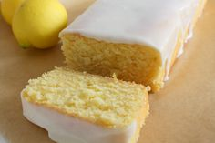 Starbuck's Lemon Loaf- I made this, and although for some reason the center collapsed. 350 for 45 min Lemon Desserts, Lemon Recipes, Just Desserts, Sweet Recipes, Baking Recipes, Delicious Desserts, Dessert Recipes, Copycat Recipes, Easy Recipes