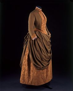 Bodice and skirt    Place of origin:  Paris, France (made)    Date:  1885 (made)    Artist/Maker:  Cridon (Madame) (maker)