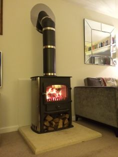 images wood burner with no chimney - Google Search | Kitchen ...
