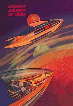 Atomic Airships of Mars