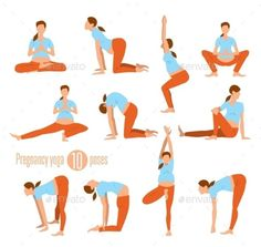 Yoga for pregnant women. Doing Stretches and Light Weight Aerobi… Pregnancy yoga. Yoga for pregnant women. Doing Stretches and Light Weight Aerobics. Prenatal Workout, Pregnancy Workout, Pregnancy Tips, Pregnancy Photos, Prenatal Yoga Poses, Pregnancy Wear, Pregnancy Vitamins, Pregnancy Acne, Pregnancy Memes