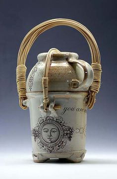 Keith Phillips studio pottery at MudFire Gallery in Atlanta-Decatur