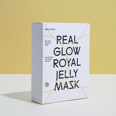 [Beautymory] Real Glow Royal Jelly Mask 25g/Strengthen skin barrier   Calming   Anti-Wrinkle >>> Click on the image for additional details. (This is an affiliate link)