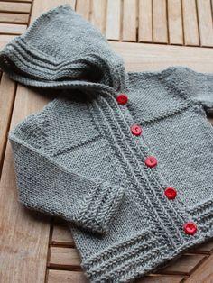 Birgitte strikker: Top Knits for Babies Knitting For Kids, Baby Knitting Patterns, Crochet For Kids, Baby Patterns, Knitting Projects, Hand Knitting, Knit Crochet, Toddler Outfits, Kids Outfits
