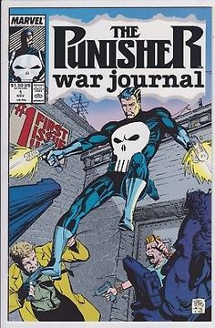The Punisher War Journal #1 Marvel comics 1988 1989