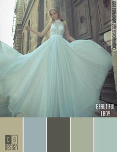 Beautiful Lady | Color Blocks Design 6.14.12