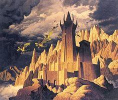 Tolkien Calendar Dec 1978 The Dark Tower, Brothers Hildebrandt