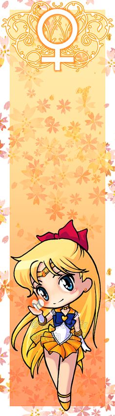 Sailor Venus bookmark by *Marc-G on deviantART