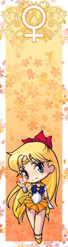 Sailor Venus bookmark by Marc-G.deviantart.com on @deviantART
