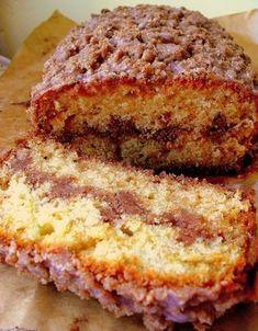 Lekcje w kuchni: Cynamonowe ciasto z podwójną kruszonką