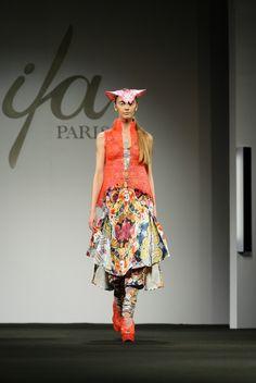 IFA Paris' 2012 fashion show winner in Shanghai: Sabine Ducasse