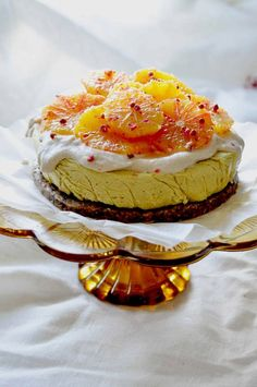 Epic Raw Citrus Cake
