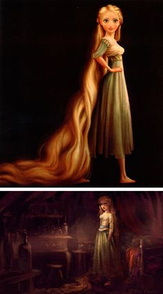 Concept Work by Claire Keane.  I love the green in these pictures