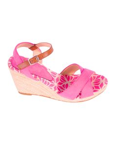 """Zapato cuña rosa  http://www.nizaonline.com/es/primavera-verano-2013/mujer/calzado/#{""""product"""":""""370""""}"""