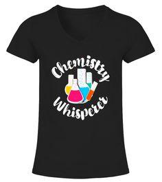 Chemistry Whisperer Fun School Teacher Graphic Gift Shirt