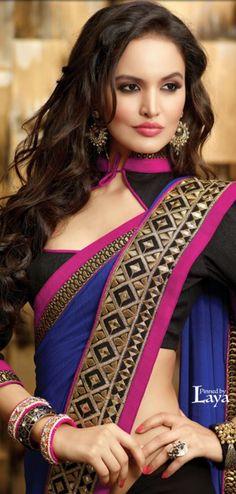 Latest Neckline-Gala Designs & Types Collection for saree dresses Choli Designs, Saree Blouse Designs, Blouse Patterns, Sewing Patterns, Saree Styles, Blouse Styles, Indian Dresses, Indian Outfits, Gala Design