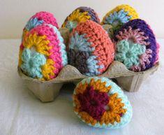 EASTER CROCHET PATTERN Crochet Egg Crochet by Mackenziepatterns, $4.40