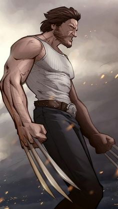 Wolverine Art - so awesome!