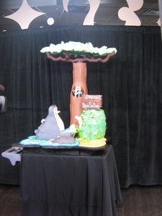 "Food Network Challenge ""Comedy Cakes"" www.sublimebakery.com"