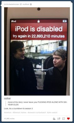 Her iPhone would be disabled for 1.4 years, sadly, I did the math because I wanted an exact number