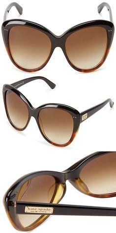 b6dfc7fee29c Kate Spade New York Angelique Cat-Eye Sunglasses womens sunglasses
