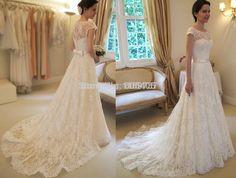 2014 Vestido Formal Birdal moda blanco barato largo vestidos de novia de China Verano para las mujeres-en los vestidos de boda de la Ropa y accesorios o ...