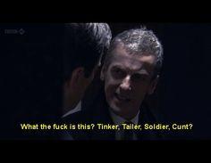 Malcolm Tucker. I love him already