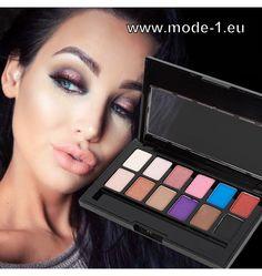 Neue Farben ! Glitzer Lidschatten Palette Augen Make-UP