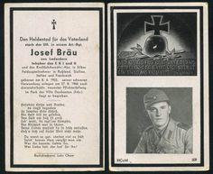 orig. WK2 STERBEBILD - DEATH CARD - INVASION FRANKREICH 1944 - EK1 - Art. Regt.