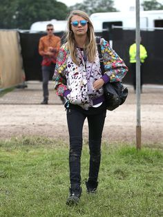 Celeb Diary: Star Style: Poppy & Cara Delevingne
