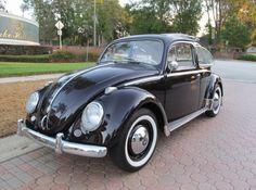 1958 Volkswagen Beetle Ragtop.