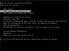 Modo seguro en Windows 7 o XP: Entra en el modo seguro de Windows 7 o XP